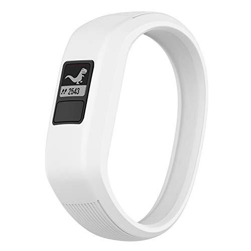 Watbro Bands Compatible with Garmin Vivofit JR/Vivofit JR2/ Vivofit 3, Soft Silicone Adjustable Stretchy Replacement Watch Bands with Buckle, for Vivofit jr/jr 2/3, for Kids Boys Girls Small Large