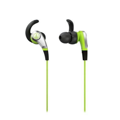 Audio-Technica Sonic Fuel ATH-CKX5 GR in-Ear Headphones (Green)