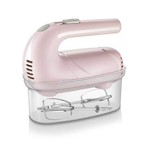 Unbekannt Mini Electric Handmixer-Set Portable Eiklopfer für Küche 5-Gang-Einstellungen Standmixer Haushalts Quirle Creme Maschine mit Aufbewahrungskoffer