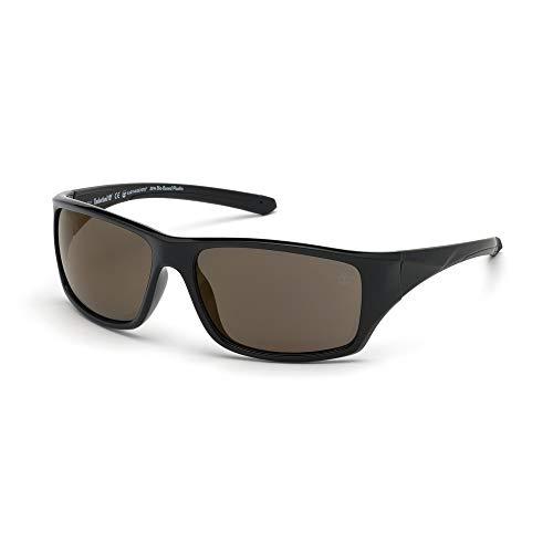 TIMBERLAND EYEWEAR Herren Tb9217 Sonnenbrille, Schwarz, 61