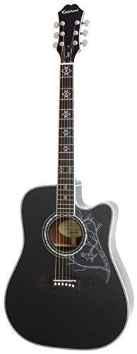 Epiphone Dave Navarro Jane Acoustic/Electric - Guitarras electroacústicas, color ebony