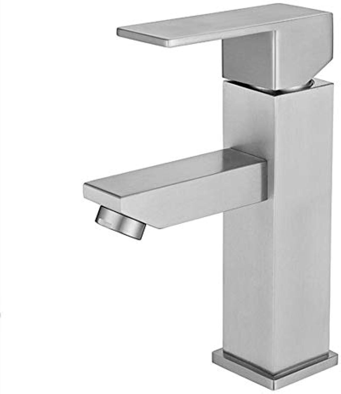 Waschtischarmaturen304 Edelstahl Becken Wasserhahn Erhhung Tisch Pull-Down-Tischplatte Waschbecken Heies Und Kaltes Wasser Wasserhahn Bleifrei