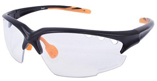 Rapid Eyewear 'Expert Clear' FAHRRADBRILLE Klare GLÄSER für Damen und Herren. Radsport Brille Mit Transparent Anti Nebel Linsen. UV400 Schutz. Für Rad, Mountainbike, Laufen, schieß usw.