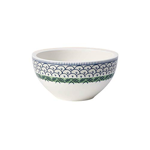 Villeroy & Boch Casale Blu Bella Bol, Porcelaine Premium, Blanc/Vert