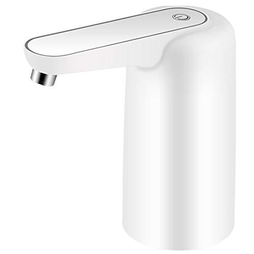 Fransande - Dispensador de botellas de agua, USB, carga eléctrica universal, bomba de agua, potable para maceta de agua de 2 a 5 galones, perfecto para actividades interiores y exteriores
