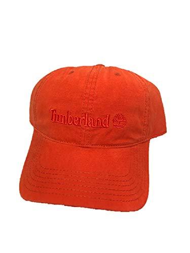 Timberland Gorra de béisbol ajustable, naranja, talla única