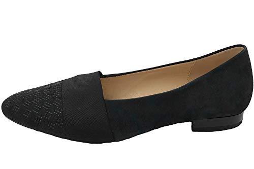 Gabor Damen Ballerina Dunkelblau 75122-16 Slipper Schuhe, EU 40.5