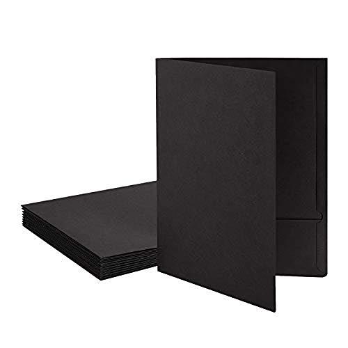 10pcs Kraftpapier Mappe Ordner Set A4 Aktenordner Aktenmappe Ringordner Ordnungsmappe Dokumentenmappe Set Dateiordner Papier Sammler für Büro Konferenz Business