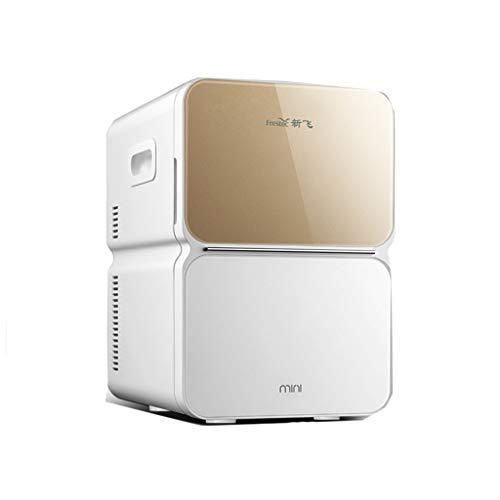 Mini Mesur Refrigerador Y Calentador De 22 litros De Litro, Nevera Portátil Eléctrica Súper Portátil Caja Fría 12V/220V para Viajar Y Hogar