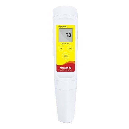 BAOSHISHAN Numérique pH Meter Economique Poche Testeur de pH Imperméable Type de Stylo Haute Précision Capteur Remplaçable