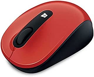 Microsoft Wireless Sculpt Mobile Mouse - Red