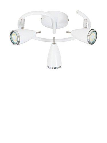 Preisvergleich Produktbild Matte Maison Deckenlampe Linda weiß