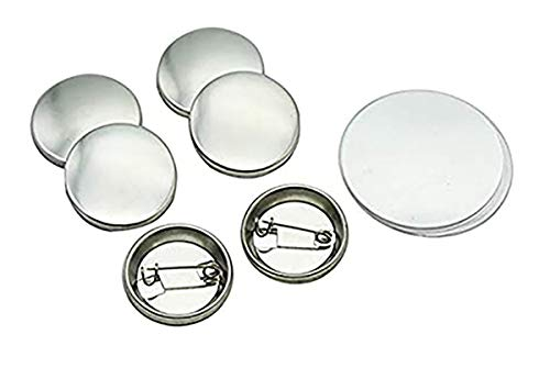 """ChiButtons 25mm (1"""" Kit) Button Maker - 1 + 25mm Mould + 500 pin Parts + Circle Cutter"""