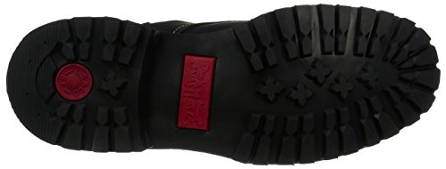 Levis Men's Compass Leather Engineer Boot, Black, 10.5 M US