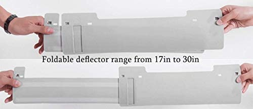 Air conditioner deflector for window units _image1