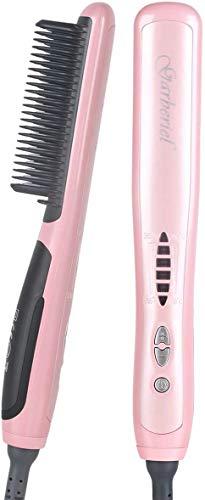 Hair Straightening Brush, 2 in 1 Professional PTC Ceramic Electric Hair...