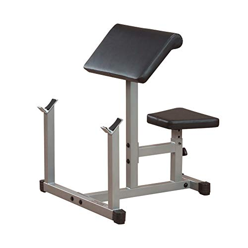 Body-Solid Powerline PPB32X Adjustable Preacher Curl Bench for Strength Training