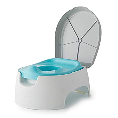 Summer 2-in-1 Step Up Potty – Potty Seat and Stepstool for Potty Training and Beyond – Easy to Empty and Clean, Space Saving 2-in-1 Solution by Summer Infant, Inc.