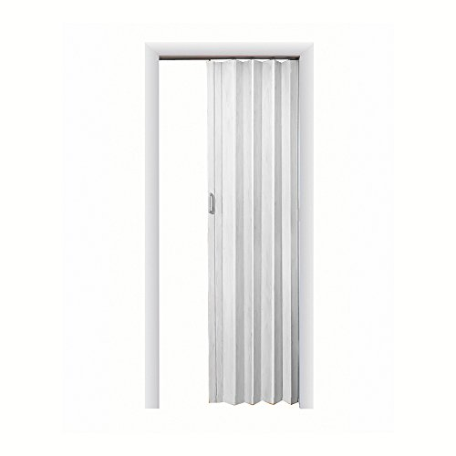 LTL Home Products EX4896WH Express One Interior Accordion Folding Door, 48 x 96 Inches, White