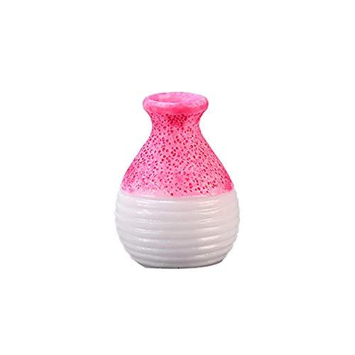 XdiseD9Xsmao Miniatuur bloempot van kunsthars, onbreekbaar, landschapsdecoratie, fee, huis, tuin, decoratie 8#