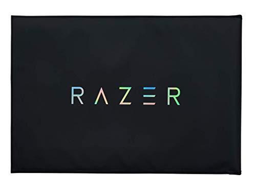 Razer Protective Sleeve V2 – Schutzhülle für Notebooks und Laptops bis zu 17,3 Zoll (43,9 cm): Außen robust, als Mausoberfläche verwendbares Innenmaterial, 450 x 310 mm groß - Schwarz