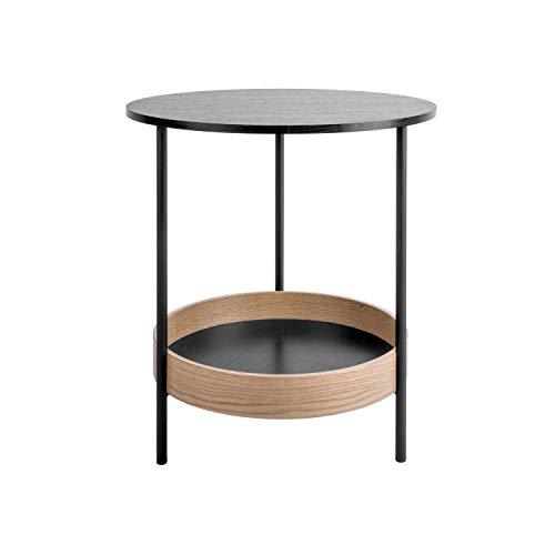 Present Time - Table d'appoint Bois Noire Dual