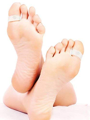 EEEZEEE Magnetic Fat Reduce Toe Rings for Weight Loss, Slimming Increasing Metabolism white color