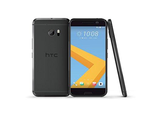 HTC 10 Smartphone débloqué 4G (Ecran: 5,2 pouces - 32 Go - Simple Nano-SIM - Android) Noir
