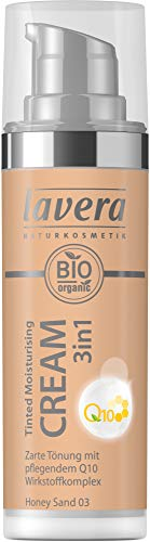 Lavera Bio Tinted Moisturising Cream 3in1 Q10 -Honey Sand 03- (2 x 30 ml)