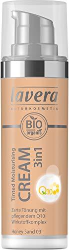 Lavera Bio Tinted Moisturising Cream 3in1 Q10 -Honey Sand 03- (2 x 30 ml)