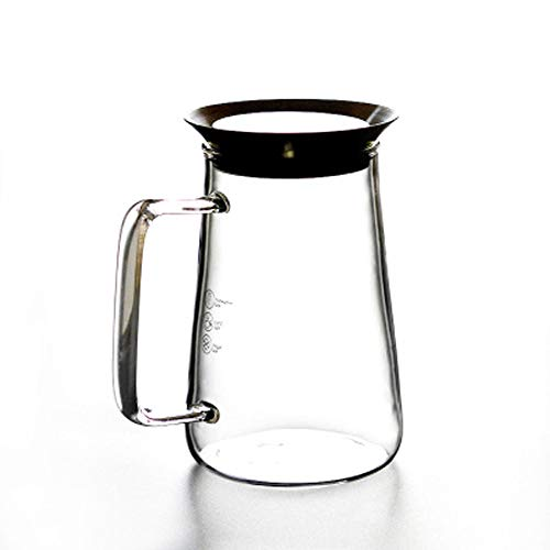 Caraffa per succo, frullatore Housmile, bollitore e robot da cucina, resistenza alle alte temperature, filtro spesso in vetro resistente al calore