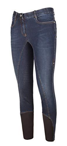 Equiline Damen Jeans-Reithose Ginger Größe 36, Farbe Denim