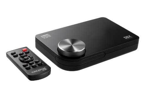 Creative Sound Blaster X-Fi Surround 5.1 Pro - USB Soundkarte - Verwandelt ihren PC oder ihr Notebook in ein 5.1 -Entertainment-System mit SBX Pro Studio-Technologie
