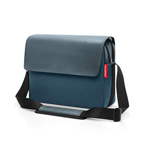 reisenthel courierbag 2 35 x 26 x 11 cm canvas blue 10 Liter