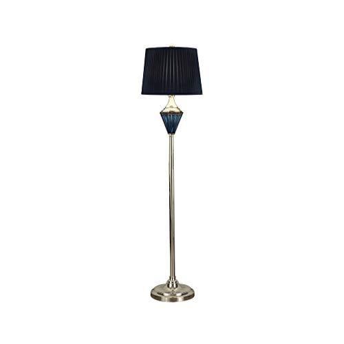 WRMOP Wandlamp, eenvoudige tafellamp, blauw, verticaal, afstandsbediening, modern, woonkamer, slaapkamer, hoge lichtdoorlatendheid, verticaal R/19/12/17