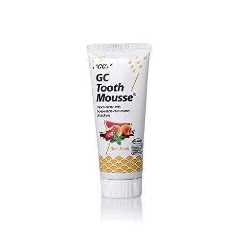 Mousse dental GC Nuevo remineralizante sin azúcar, crema tópica dental Tutti Sabor afrutado 3 a 5 días Entrega rápida por DHL Express