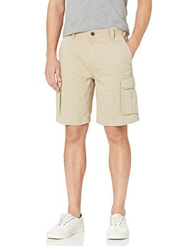 """Amazon Essentials Men's Classic-Fit 10"""" Cargo Short, Khaki, 34"""