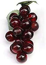 BihYen- Artificial Grapes Plastic Fake Decorative Fruit Food Home Decor 2019ing Beauty Accessories Phones Cell Electronics Case Girls Weddings Computers Toys Home Events Sports Gard