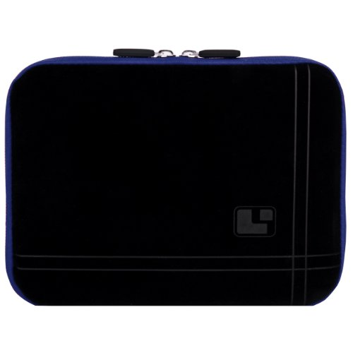 SumacLife Micro Suede Carrying Sleeve with Rear Pocket for 8-8.9 Inches Tablets (SLMSuede8BBLU)