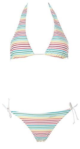 Shiwi Damen Neckholder Triangel Bikini Weiß 42