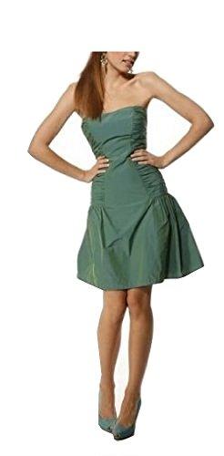 Heine Elegantes Abendkleid Grün Gr. 42