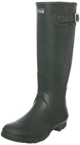 Toggi Wanderer Classic PLus Wellington - Stivali di gomma Unisex – Adulto, Verde (Dark Green), 39