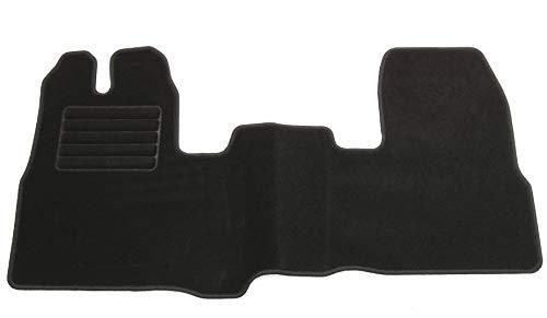 AD Tuning HG14759T Velours Fußmatten Set (1-teilig) Schwarz Passform Autoteppich
