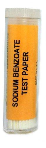eisco Labs benzoato de sodio tiras de papel–sabor genética de pruebas (Vial De 100)