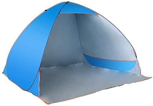 SAIYI Automatic tent lazy beach shade tent speed open 4 people outdoor tent,Beach play, indoor recreation, park leisure, fishing sunscreen,195 * 191 * 125cm