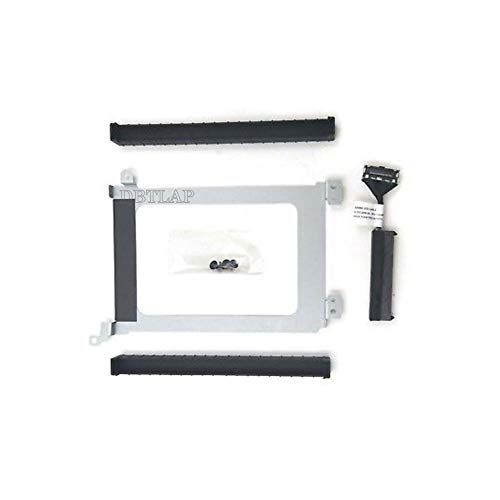 DBTLAP HDD Cable Compatible for Dell XPS15 9560 9550 9570 Precision 5520 5510 XDYGX HDD Cable + Caddy + Rubber Rail