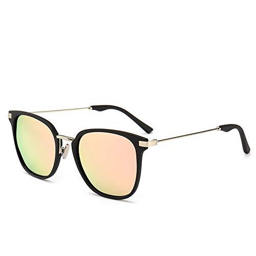 MNGF&GC Nuevas gafas de sol polarizadas para hombres caja de moda gafas de sol japonesas gafas de sol para mujer marea, naranja