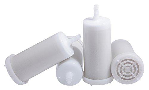 Wasserenthärter Entkalker für Espressomaschine (bsw. Rancilio Silvia) und andere Tankmaschinen - 4 Stück wiederverwendbar