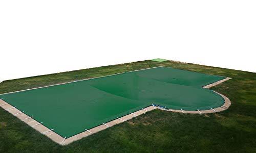 International Pool Protection Bâche de piscine hivernale de 6,60 x 3,60 m