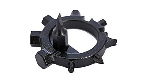 Tournevis et outil de support porte-clés multi-fonction de Zendy, 1 Piece Black